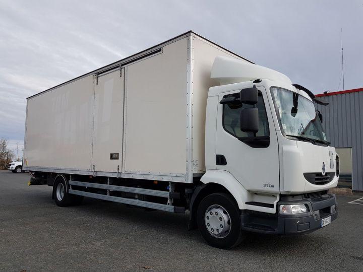 Camion porteur Renault Midlum Caisse fourgon + Hayon élévateur 270dxi.16 ALLIANCE BLANC Occasion - 7