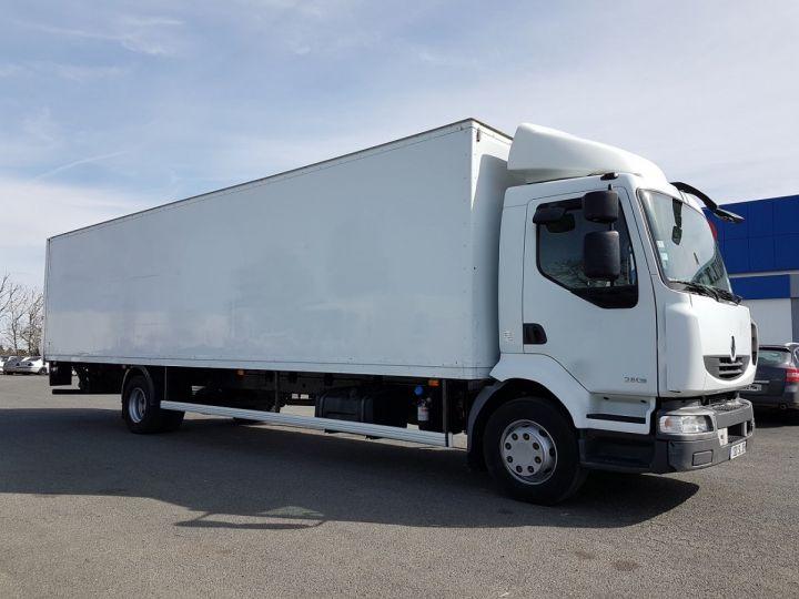 Camion porteur Renault Midlum Caisse fourgon + Hayon élévateur 280dxi.16 - Hayon en panne BLANC Occasion - 3