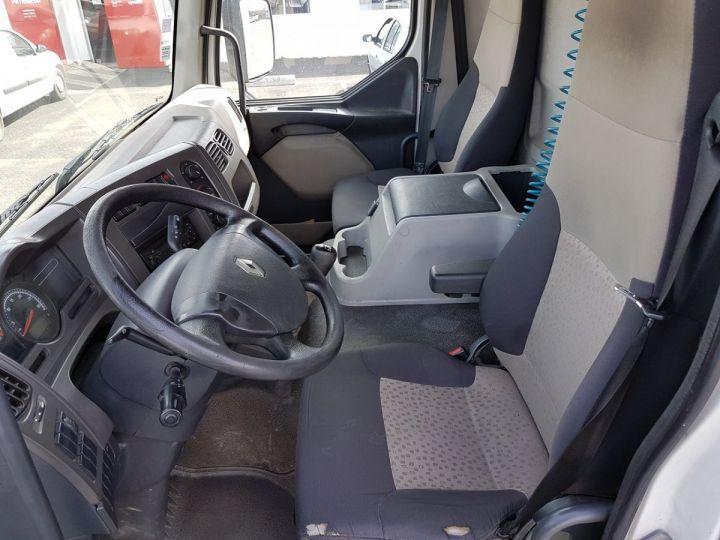 Camion porteur Renault Midlum Caisse fourgon + Hayon élévateur 280dxi.16 - Hayon en panne BLANC Occasion - 19