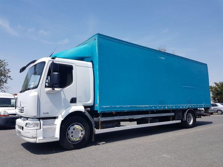 Camion porteur Renault Midlum Caisse fourgon + Hayon élévateur 280dxi;18 ALLIANCE BLANC - VERT Occasion - 1