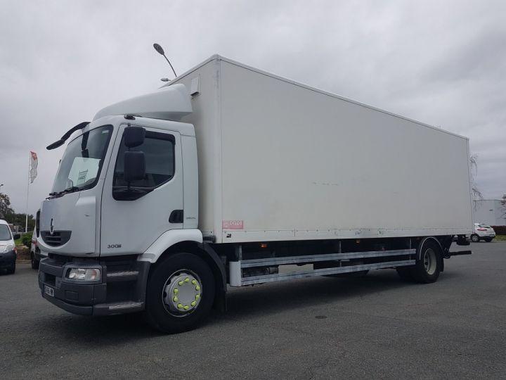 Camion porteur Renault Midlum Caisse fourgon + Hayon élévateur 300dxi.18 ALLIANCE BLANC - 1
