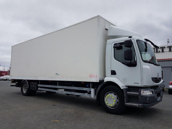 Camion porteur Renault Midlum Caisse fourgon + Hayon élévateur 300dxi.18 ALLIANCE BLANC - 4