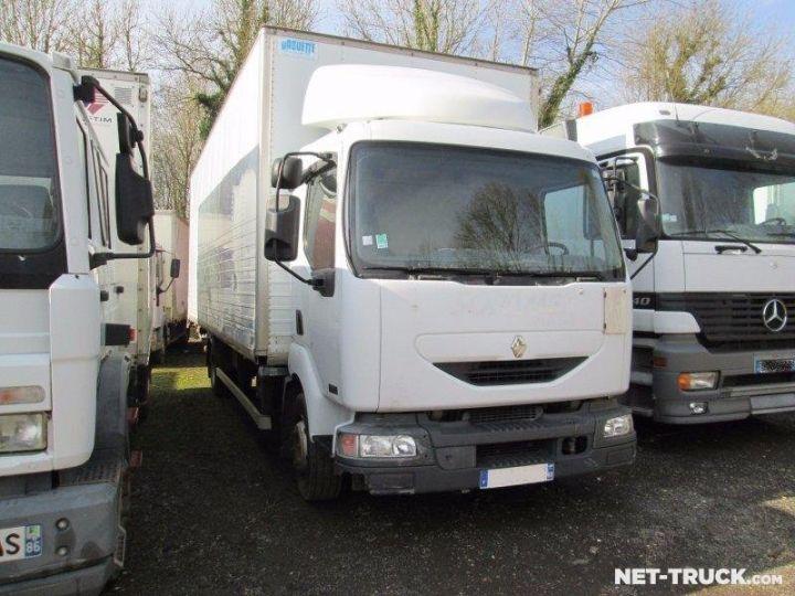 Camion porteur Renault Midlum Caisse fourgon + Hayon élévateur  - 1