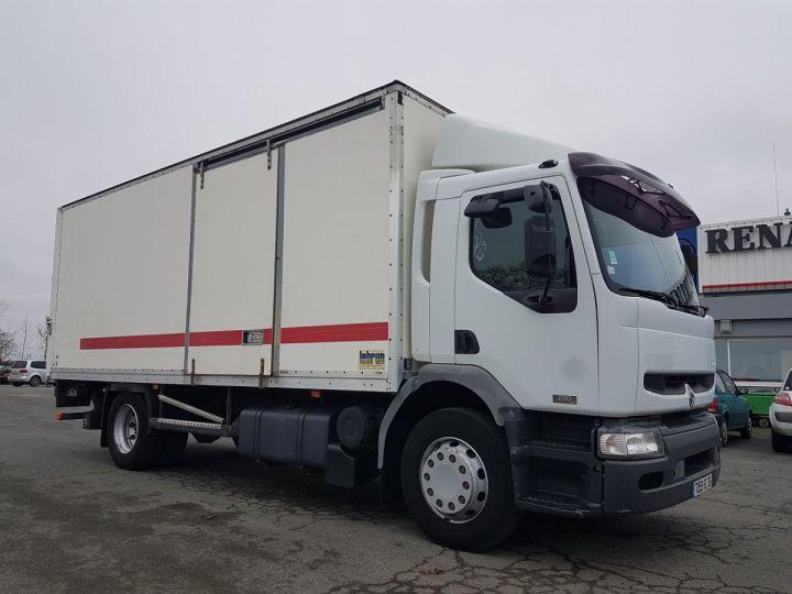 Camion porteur Renault Premium Caisse fourgon + Hayon élévateur 220dci.16 - Moteur en panne / pour pièces BLANC - 6
