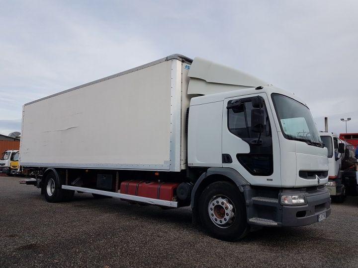 Camion porteur Renault Premium Caisse fourgon + Hayon élévateur 260.19 - LAMES BLANC - 4