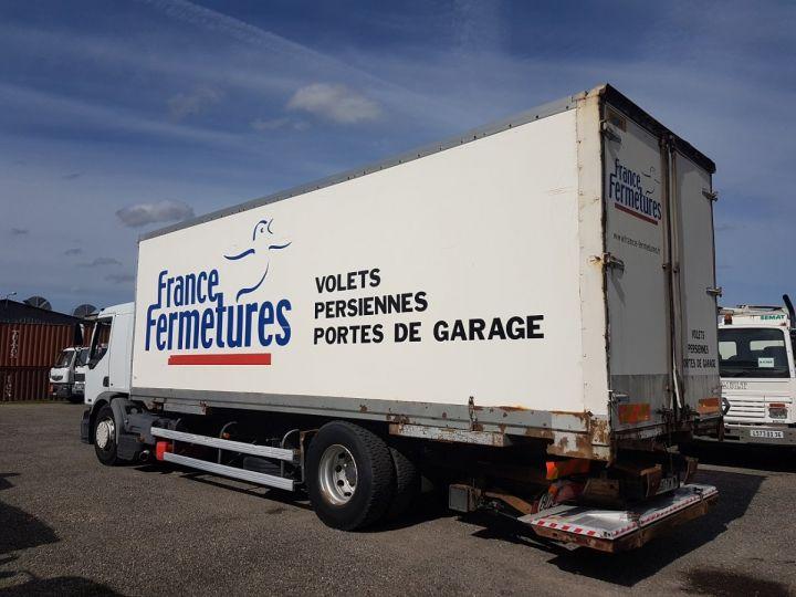 Camion porteur Renault Premium Caisse fourgon + Hayon élévateur 270dci.18D - Pour pièces BLANC - 5