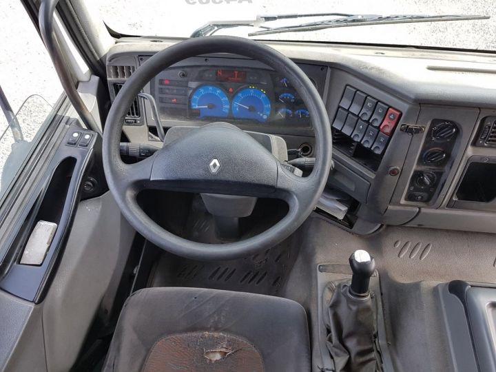 Camion porteur Renault Premium Caisse fourgon + Hayon élévateur 270dci.18D - Pour pièces BLANC - 21