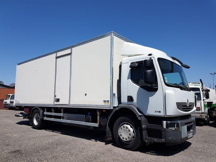 Camion porteur Renault Premium Caisse fourgon + Hayon élévateur 270dxi.19D - FOURGON 7m50 BLANC Occasion - 4