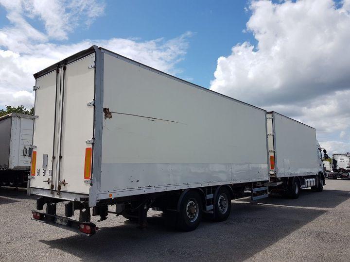 Camion porteur Renault Premium Caisse fourgon + Hayon élévateur 450dxi + SAMRO - COMBI BOX 104m3 BLANC Occasion - 2