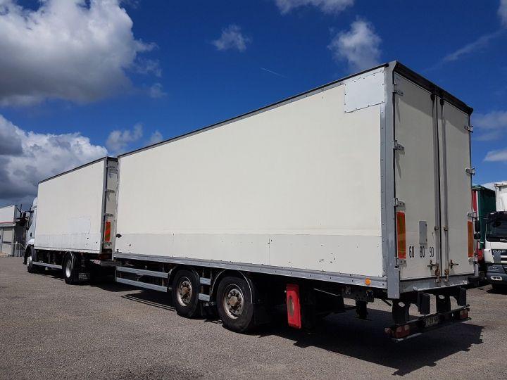 Camion porteur Renault Premium Caisse fourgon + Hayon élévateur 450dxi + SAMRO - COMBI BOX 104m3 BLANC Occasion - 4