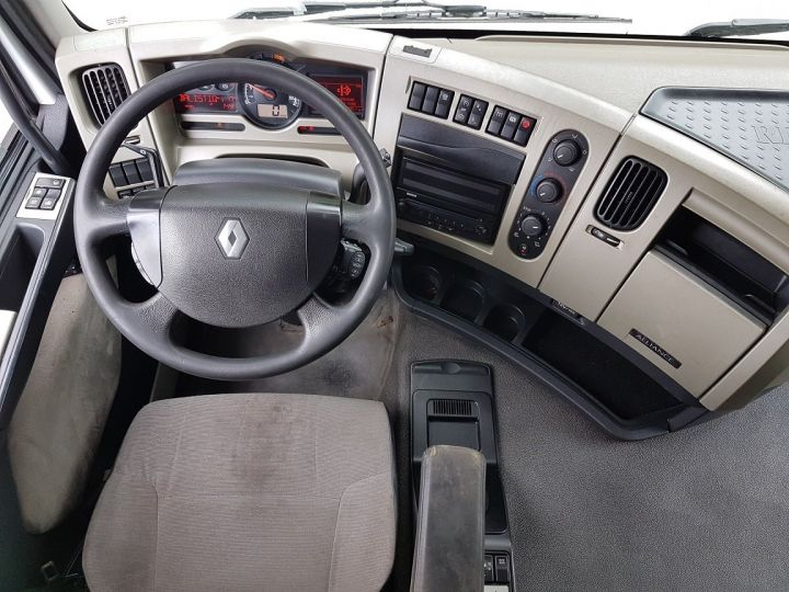 Camion porteur Renault Premium Caisse fourgon + Hayon élévateur 450dxi + SAMRO - COMBI BOX 104m3 BLANC Occasion - 18