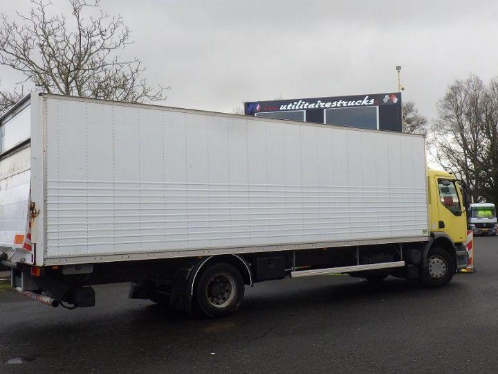 Camion porteur Renault Premium Caisse fourgon + Hayon élévateur Blanc et jaune - 1