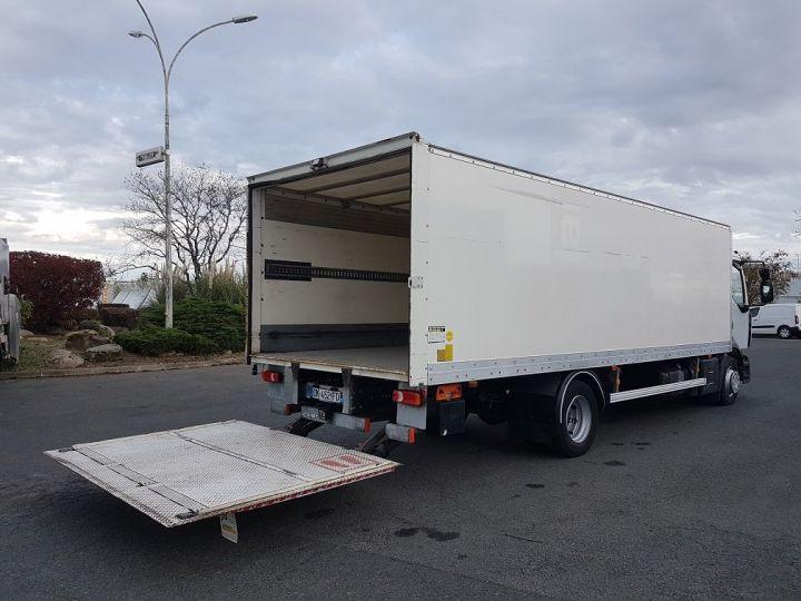 Camion porteur Renault D Caisse fourgon + Hayon élévateur 12.210dti euro 6 BLANC - 3