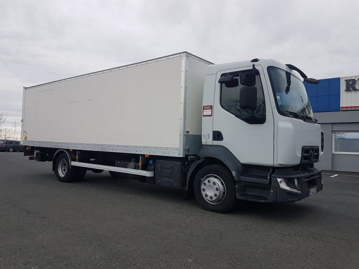 Camion porteur Renault D Caisse fourgon + Hayon élévateur 12.210dti euro 6 BLANC - 4