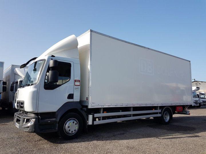 Camion porteur Renault D Caisse fourgon + Hayon élévateur 12.210dti FOURGON 7m50 BLANC - 1