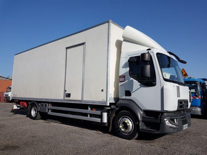 Camion porteur Renault D Caisse fourgon + Hayon élévateur 12.210dti FOURGON 7m50 BLANC - 4