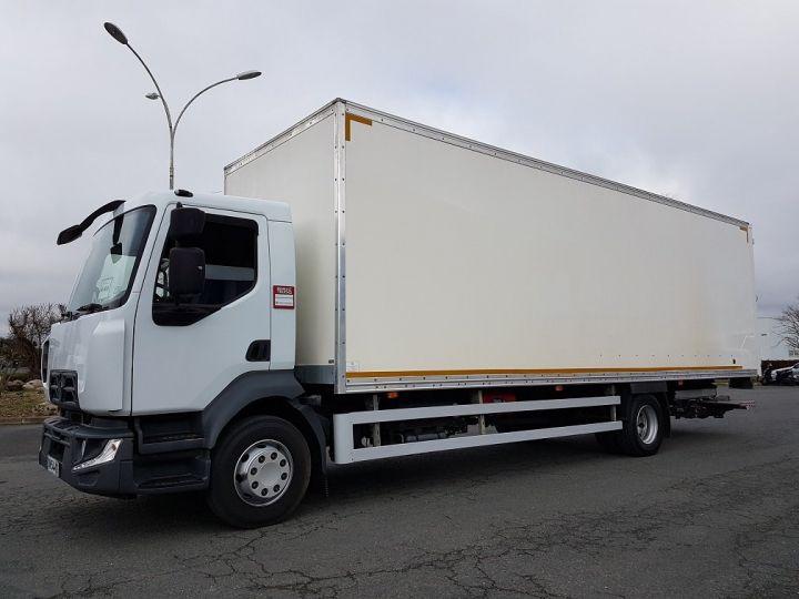Camion porteur Renault D Caisse fourgon + Hayon élévateur 16.250dti BLANC - 1