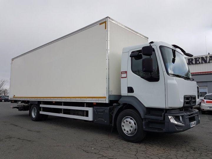 Camion porteur Renault D Caisse fourgon + Hayon élévateur 16.250dti BLANC - 4