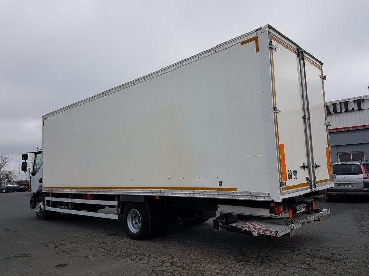 Camion porteur Renault D Caisse fourgon + Hayon élévateur 16.250dti BLANC - 5