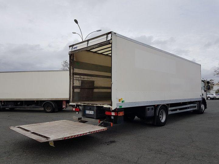Camion porteur Renault D Caisse fourgon + Hayon élévateur WIDE 19.280dti - Fourgon 9m40 BLANC - 3