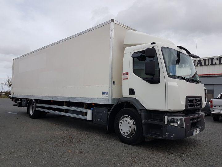 Camion porteur Renault D Caisse fourgon + Hayon élévateur WIDE 19.280dti - Fourgon 9m40 BLANC - 4