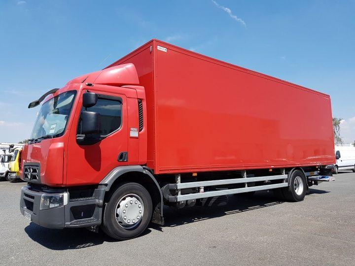 Camion porteur Renault D Caisse fourgon + Hayon élévateur WIDE 19.320dti ROUGE Occasion - 1