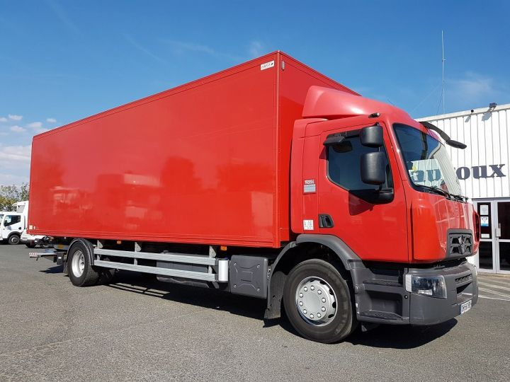 Camion porteur Renault D Caisse fourgon + Hayon élévateur WIDE 19.320dti ROUGE Occasion - 4