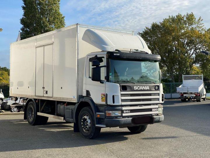 Camion porteur Scania Caisse fourgon + Hayon élévateur SCANIA 94G 220 HAYON ELEVATEUR BLANC - 2