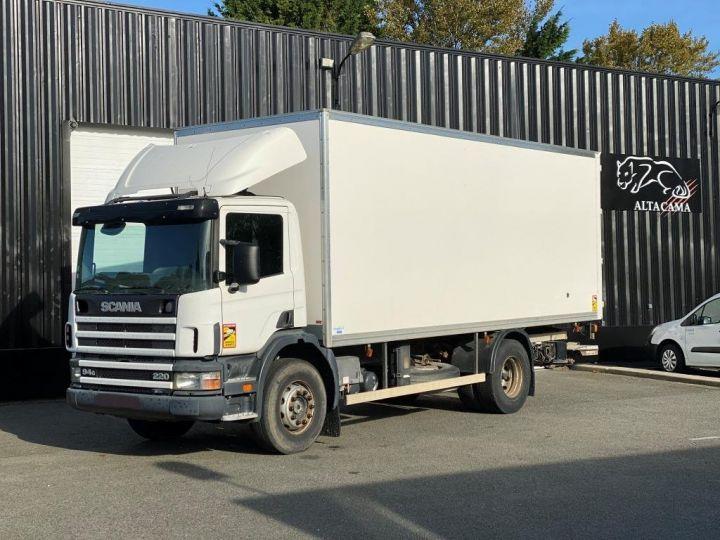 Camion porteur Scania Caisse fourgon + Hayon élévateur SCANIA 94G 220 HAYON ELEVATEUR BLANC - 3