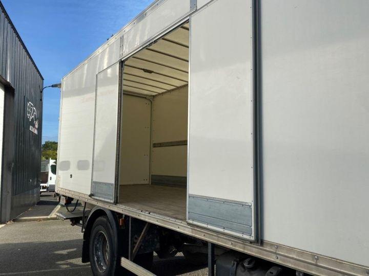 Camion porteur Scania Caisse fourgon + Hayon élévateur SCANIA 94G 220 HAYON ELEVATEUR BLANC - 7