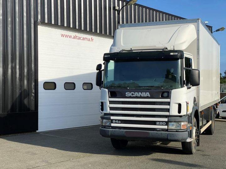 Camion porteur Scania Caisse fourgon + Hayon élévateur SCANIA 94G 220 HAYON ELEVATEUR BLANC - 9