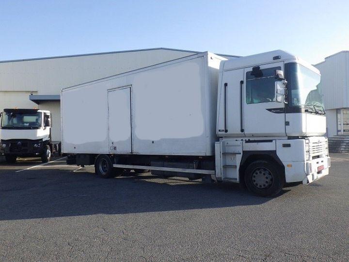 Camion porteur Renault Magnum Caisse Fourgon Blanc - 1