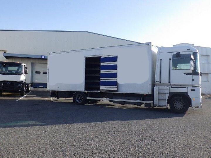 Camion porteur Renault Magnum Caisse Fourgon Blanc - 8