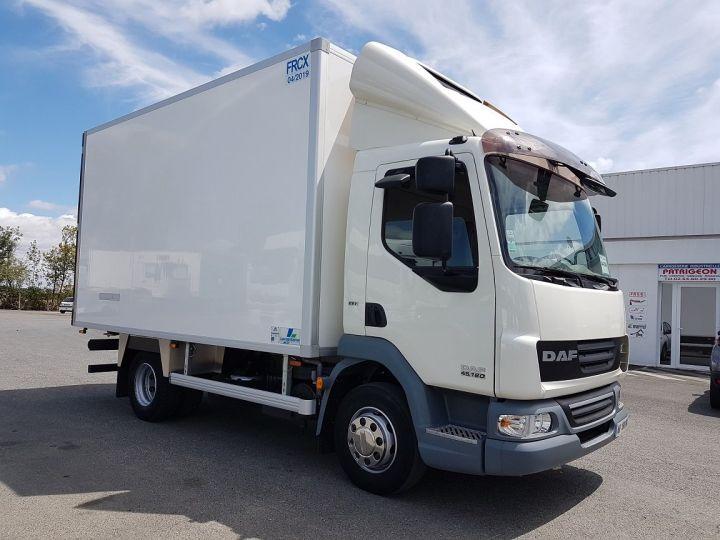Camion porteur Daf LF Caisse frigorifique 45.180 PORTE-VIANDES BLANC Occasion - 4