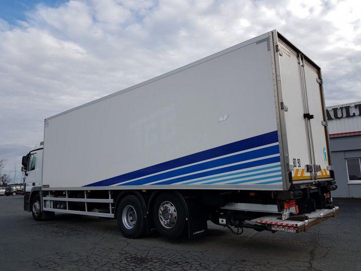 Camion porteur Mercedes Actros Caisse frigorifique 2536 NL 6x2 RETARDER BLANC - BLEU Occasion - 5