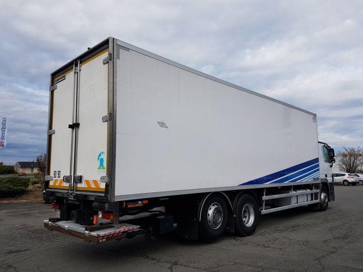 Camion porteur Mercedes Actros Caisse frigorifique 3536 NL 6x2 RETARDER BLANC - BLEU - 2