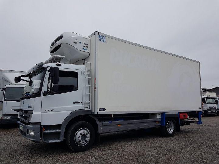 Camion porteur Mercedes Atego Caisse frigorifique 1218 NL Bluetec 5 BLANC Occasion - 1