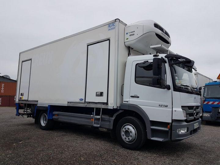 Camion porteur Mercedes Atego Caisse frigorifique 1218 NL Bluetec 5 BLANC Occasion - 4