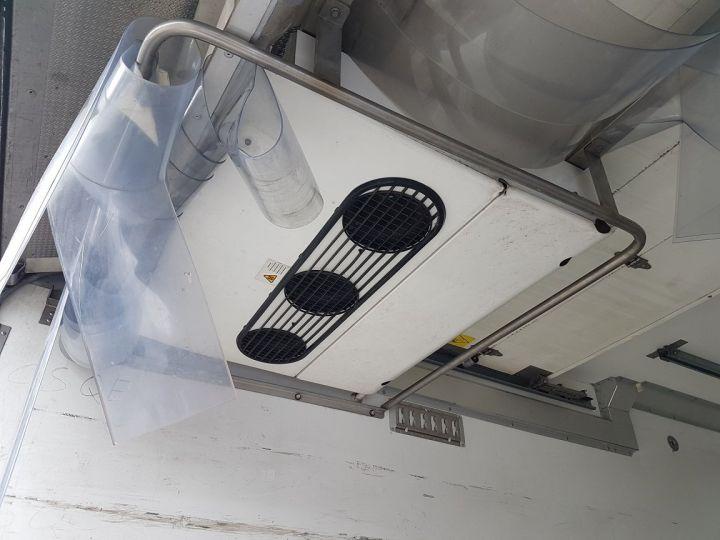 Camion porteur Mercedes Atego Caisse frigorifique 1218 NL Bluetec 5 BLANC Occasion - 8