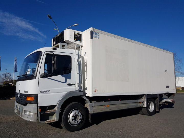 Camion porteur Mercedes Atego Caisse frigorifique 1317 FRIGO MAGASIN BLANC - 1