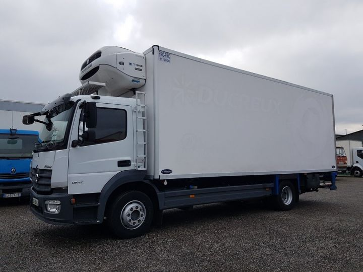 Camion porteur Mercedes Atego Caisse frigorifique 1318 NL euro 6 - BI-TEMPERATURE BLANC - 1