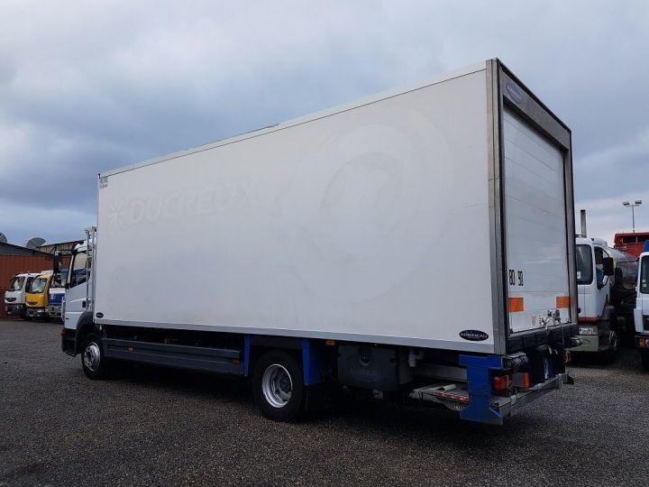Camion porteur Mercedes Atego Caisse frigorifique 1318 NL euro 6 - BI-TEMPERATURE BLANC - 5