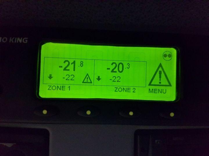 Camion porteur Mercedes Atego Caisse frigorifique 1318 NL euro 6 - BI-TEMPERATURE BLANC - 17
