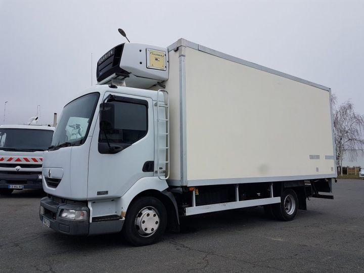 Camion porteur Renault Midlum Caisse frigorifique 180dci.10/B BLANC - 1