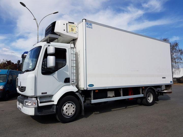 Camion porteur Renault Midlum Caisse frigorifique 220dci.16 BLANC - 1