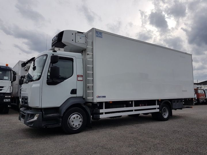 Camion porteur Renault D Caisse frigorifique MED 12.210dti euro 6 - FRIGO BI-TEMPERATURE 2018 BLANC - 1