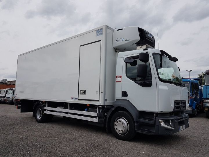 Camion porteur Renault D Caisse frigorifique MED 12.210dti euro 6 - FRIGO BI-TEMPERATURE 2018 BLANC - 4