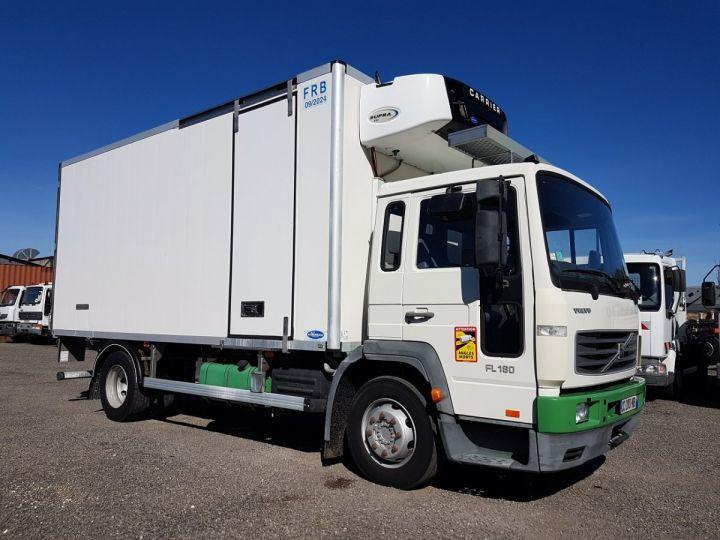Camion porteur Volvo FL Caisse frigorifique 180.12 - FRIGO 25m3 - 154000 kms BLANC - VERT - 4