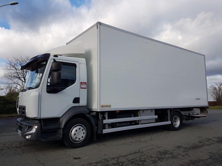 Camion porteur Renault D Caisse isotherme 12.210dti  spécial FLEURS BLANC - 1