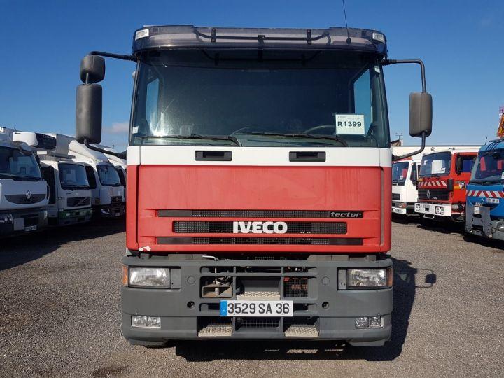 Camion porteur Iveco EuroCargo Chassis cabine 180 E 28 - Boite de vitesse en panne ROUGE - BLANC - 7